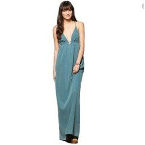 Silence + Noise Maxi Slip Dress Sz Medium